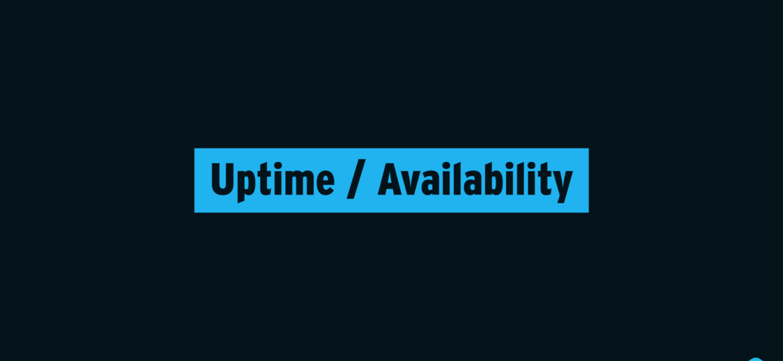 Uptime - Availability Title Image