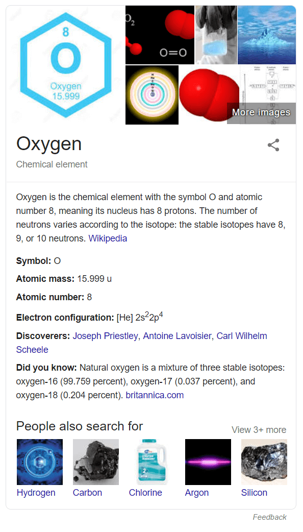 Knowledge Graph for scientific things