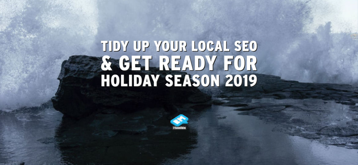 Title - Get your local SEO listings ready for Holiday Season 2019